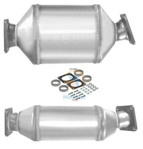 Exhaust DPF Diesel Particulate Filter +Fitting Kit +2yr Warranty