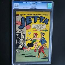 JETTA of the 21st CENTURY #6 (Standard 1953) 💥 CGC 5.0 OW 💥 ONLY 13 in CENSUS!