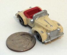 Small Micro Machine Plastic Packard 1940 Darrin Sports Car in Creamy White