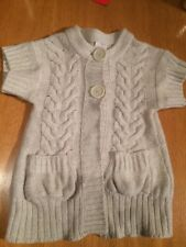 Next Beige Girls Knitted Cardigan Age 5-6 Years