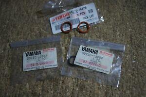 YAMAHA FJ1200 XJR1200 XJR1300 OIL COOLER RUBBER  O-RINGS 4no 93210-13657 16629