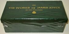 Works of JAMES JOYCE!(BRAND NEW!)(MINT+ & UNREAD!)faux leather Ulysses COMPLETE!