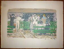 Maurice Brianchon Lithographie originale sur velin