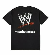 NWT The Hundreds x WWE Collaboration WWE T-Shirt Black