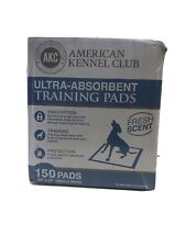"""150 22""""X22"""" Anerican Kennel Club Ultra Absorbent Training Pads"""