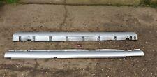 JAGUAR S TYPE R 4.2 V8 SUPERCHARGED PREFACELIFT 2003 SILVER SIDE SKIRTS X 2
