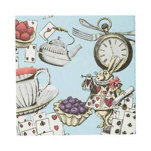 Truly Alice 25cm Party Napkin 20 Pack