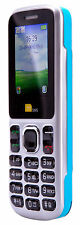 TTsims TT130 Dual Sim Mobile Phone Blue O2 PAYG Cheap Bluetooth Camera Cheapest