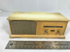 Arvin Transistor Radio Model 28R07 Antique Gold/White Working Stereo Console