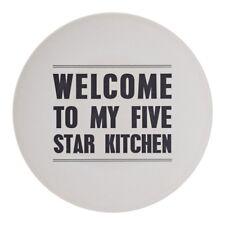 Bloomingville Servierteller Five Star Kitchen Bambus-Melamin