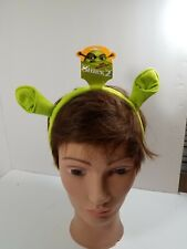 "Shrek 2 Ears Costume Headband Officially Licensed Item ""100% Authentic Ogre"" Nwt"