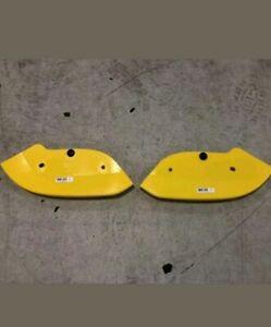 15-18 Dodge Challenger Hellcat Front Splitter Protectors Covers MOPAR TAKEOFFS!!