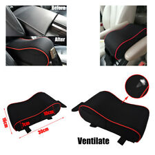 Memory Foam Car Center Console Armrest Vehicle Cover Seat Auto Pad BLACK