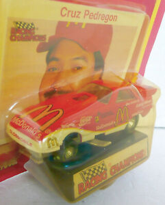 1992 RACING CHAMPS McDONALD TEAM CRUZ PEDREGON FUNNY CAR OLDSMOBILE CARD ROUGH