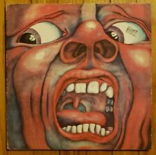 KING CRIMSON - In The Court Of The Crimson King ATLANTIC LP Vinyl 1st VG++/VG+