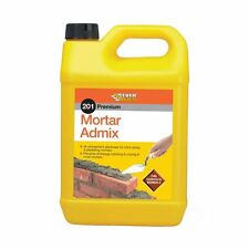 EVERBUILD 201 MORTAR ADMIX 25L BRICK/BLOCK WORK STOPS CRACKS PLASTICISER 25LTR