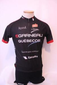 New Louis Garneau Men's Equipe Pro 2 Replica Bike Medium Short Sleeve Black