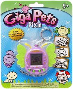 Giga Pets Pixie Purple Virtual Pet Toy