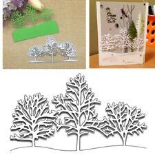 Christmas Snow Tree Metal Cutting Dies Stencils DIY Paper Cards Craft Embossing