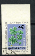 Hungary 1963 SG#1957, 40fi New Year Used Imperf #A65729