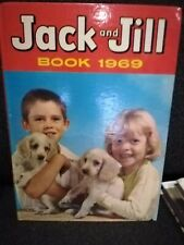 JACK AND JILL BOOK ANNUAL 1969(unclipped) 1st NEWSPAPER HC hardcover GAME PUZZLE