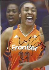 Morgan Tuck Signed 5 x 7 Photo Wnba Basketball Uconn Huskies Connecticut Sun