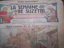 La semaine de Suzette (EO des 2 premières années complètes - 1905 & 1906) (Rare)