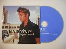 ELVIS PRESLEY : ALWAYS ON MY MIND ▓ CD SINGLE PORT GRATUIT ▓