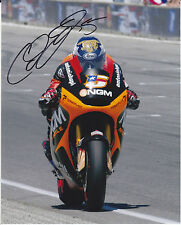 MotoGP COLIN EDWARDS Signed NGM Mobile Forward Racing Colour Photo