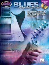 Blues Rhythm Guitar Learn to Play Beginner Lesson Tutor Music Book & CD