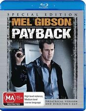 Payback (Blu-ray, 2009) SPECIAL EDITION - BRAND NEW & SEALED