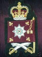 Irish Guards CSM Rank Ensignia Full Size