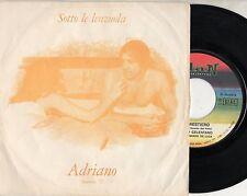 ADRIANO CELENTANO disco 45 giri  MADE in ITALY Sotto le lenzuola SANREMO 1971