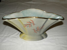 1950's Wembley Ware Vase Fan Shaped Australian Painted