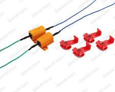 Load Resistors for Turn Signal Light Blinkers Flash Fix 25W 6ΩJ (2 Pieces)