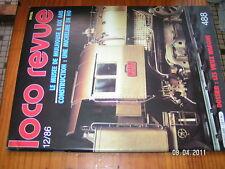 Loco Revue n°488 Musée Mulhouse Autorail XM 1000