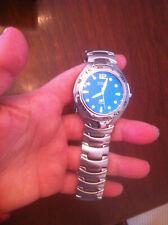 Fossil Blue 100 Meters wristwatch watch