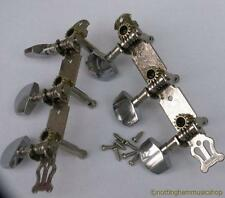 CHROME PLATED GUITAR MACHINE HEADS STEEL STRING LP HEAD STOCK ELECTRIC ACOUSTIC