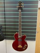 More details for epiphone allen woody rumblekat signature 2020 wine red electric bass guitar