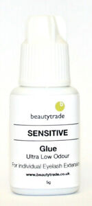 Sensitive Glue (5g) for individual eyelashes only. Free Delivery.