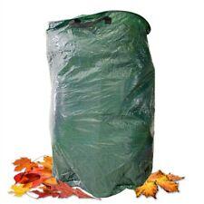 Gartenlaubsack 120 Liter grün Gartenabfallsack Rasensack Laubsack Neuware