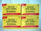 DR. KAUFMANN MEDICATED SULFUR ZINC OXIDE SOAP - 4 Boxes of 80g