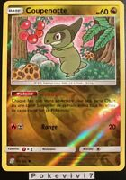 Carte Pokemon COUPENOTTE 154/236 REVERSE Soleil et Lune 11 SL11 FR NEUF