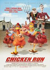 CHICKEN RUN 2000 Aardman Animations, Peter Lord - Movie Cinema Poster Art