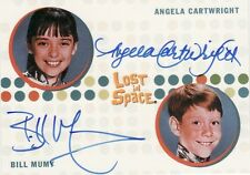 The Complete Lost in Space Rare Bill Mumy & Angela Cartwright Dual Auto Card