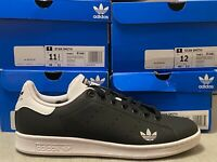 adidas Originals STAN SMITH Mens Sneakers Black/White FV6872 Choose Size FV6872