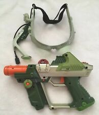 Tiger Electronics Lazer Tag Deluxe Team Ops Laser Gun Green USED Working