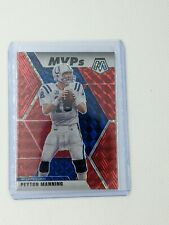 2020 Panini Mosaic Football Peyton Manning MVP Hobby Red Mosaic Colts SP fire 🔥