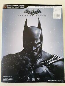 BATMAN:ARKHAM ORIGINS-Signature Series Strategy Guide Book 2013 LIKE NEW