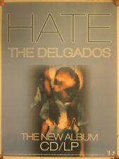 Delgados Poster Album Promo Hate Mint 18x24 The Del Gados